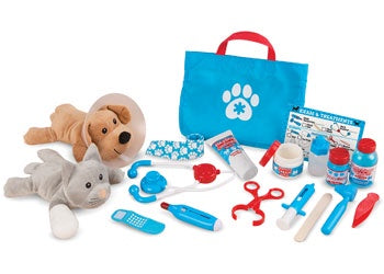 M&D - Examine & Treat Pet Vet Play Set