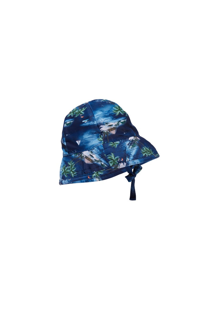 Swim Hat Hawaiian