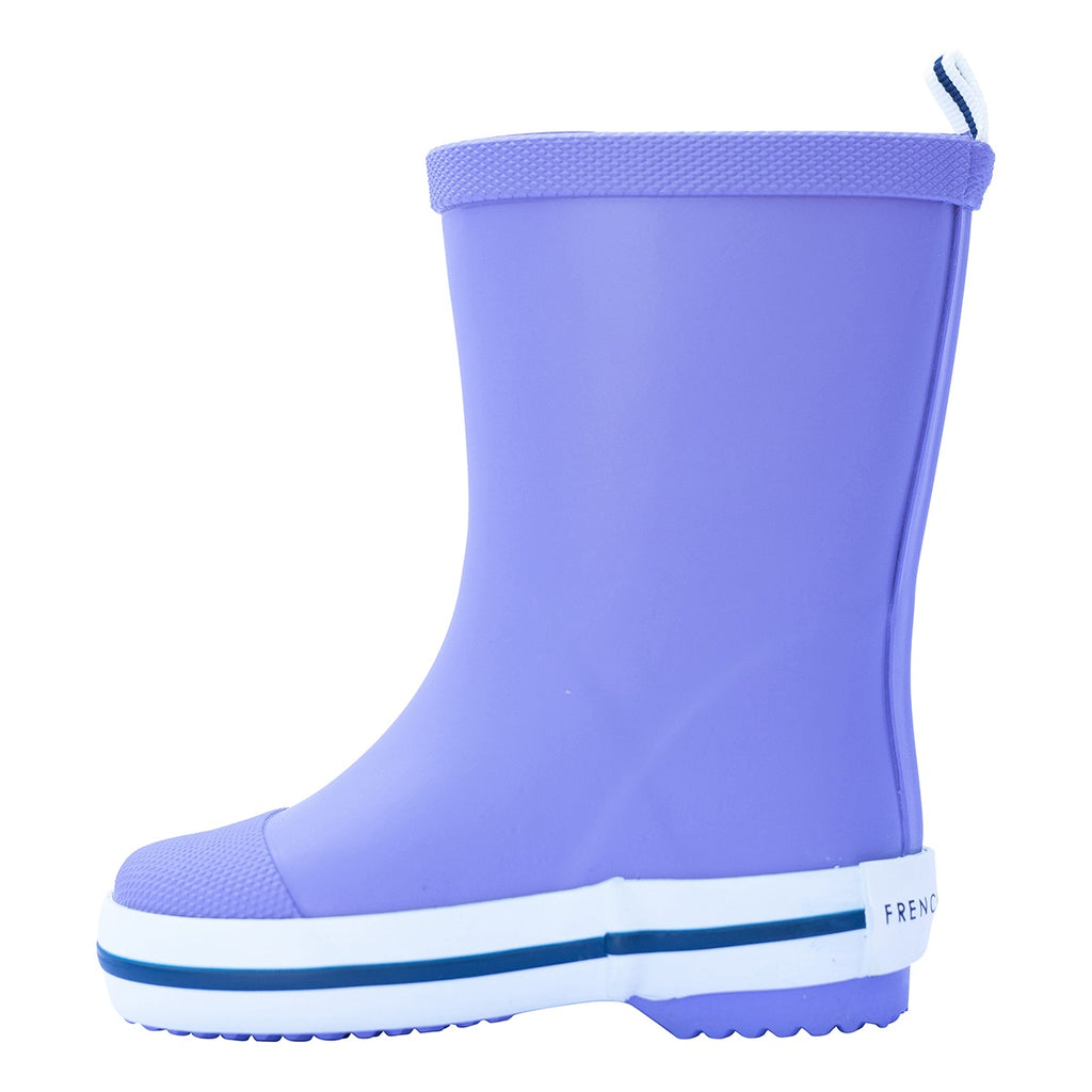 Long Gumboot - Purple