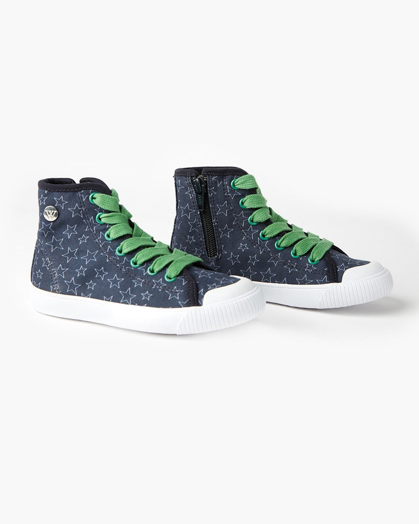 Empire High Top Canvas Stars