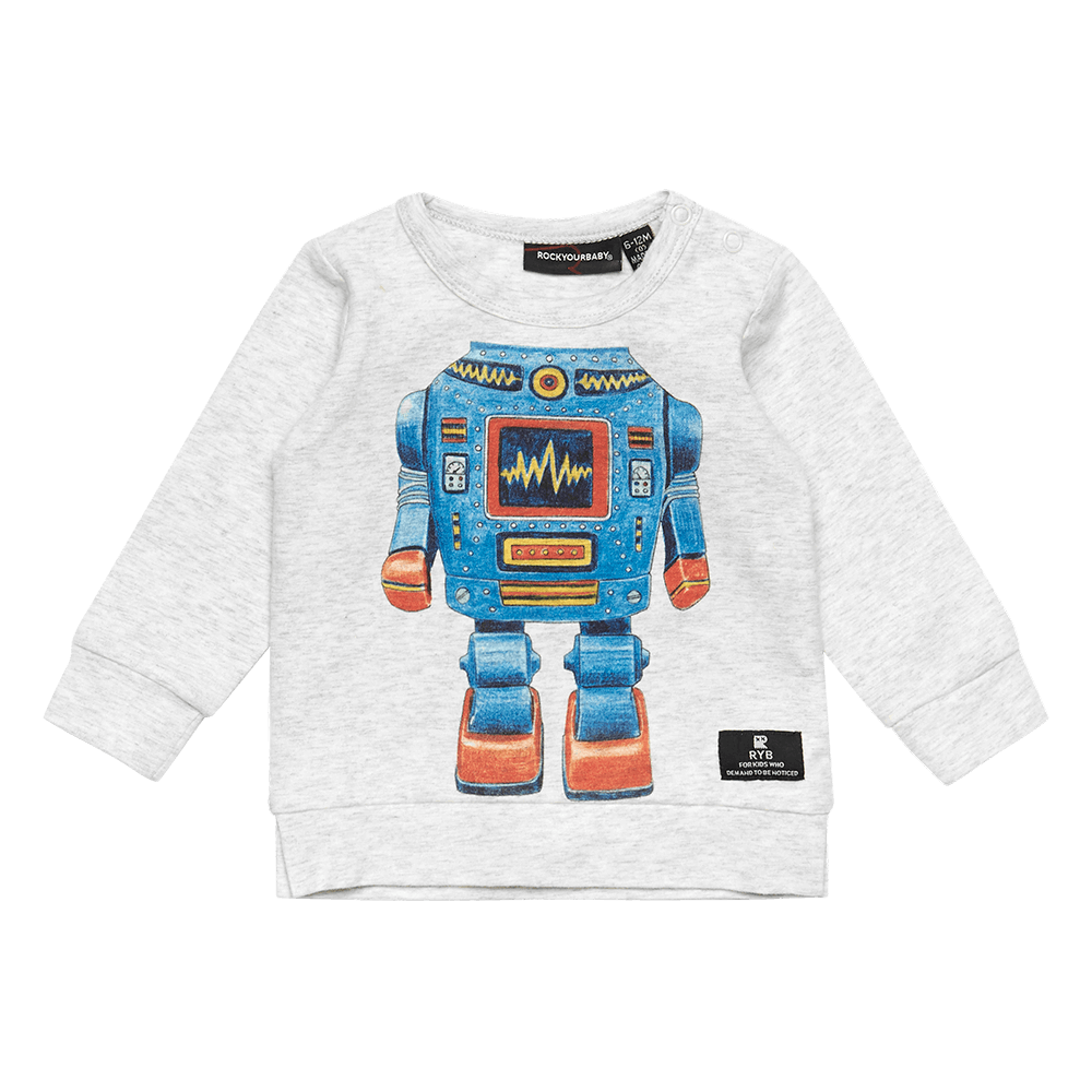 ROBO KID - BABY LS T-SHIRT