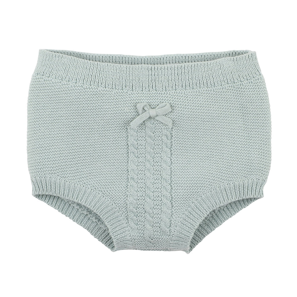 TIA KNITTED BLOOMER - DUSTY SAGE