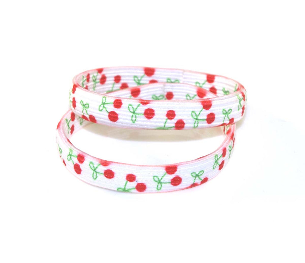CHERRY SEAMLESS ELASTICS