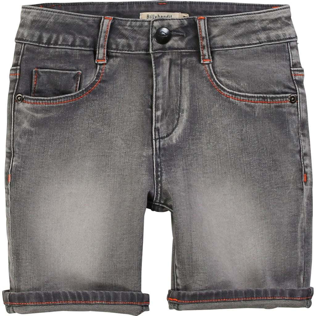 DENIM BERMUDA SHORTS DENIM GREY