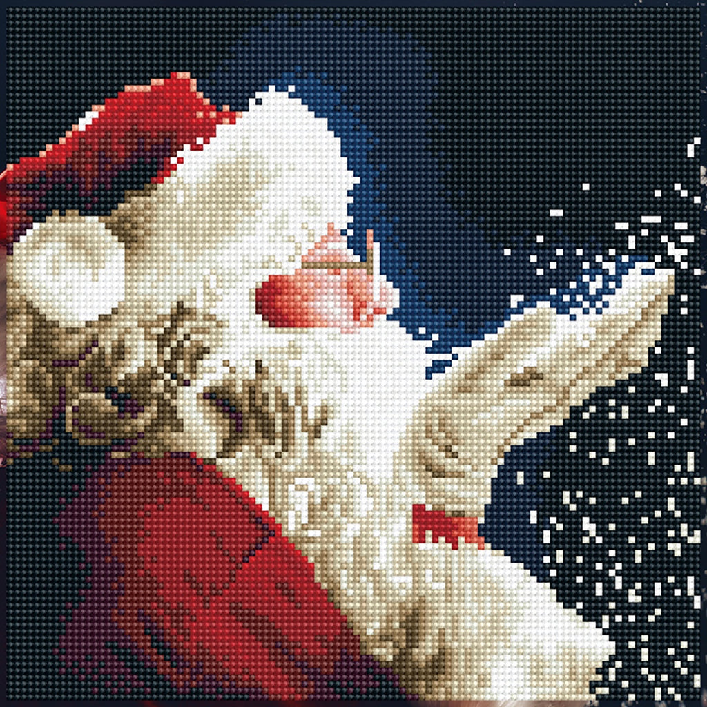 DIAMOND ART - SANTA