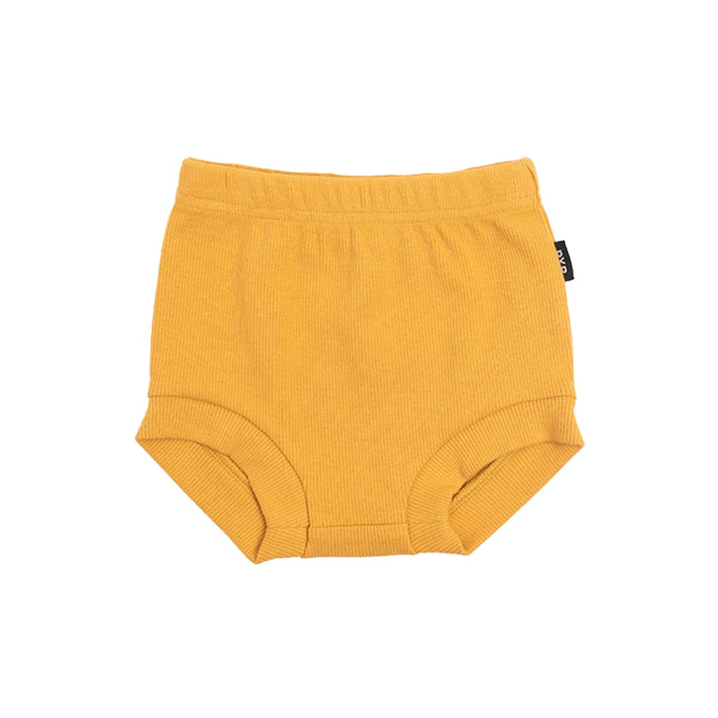 RIB NAPPY COVER - MARIGOLD