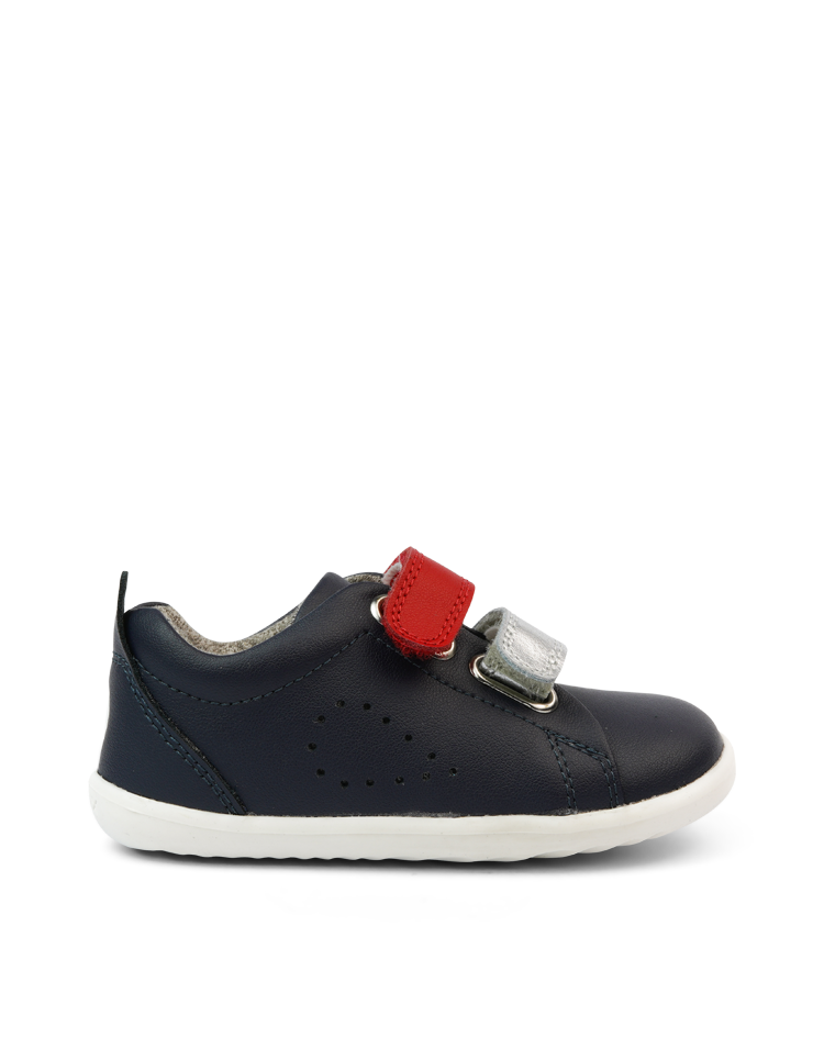 SU Grass Court Switch Navy (Red + Silver)