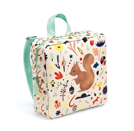 Squirrel Preschool Bag