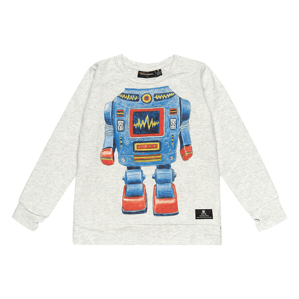 ROBO KID - LS T-SHIRT