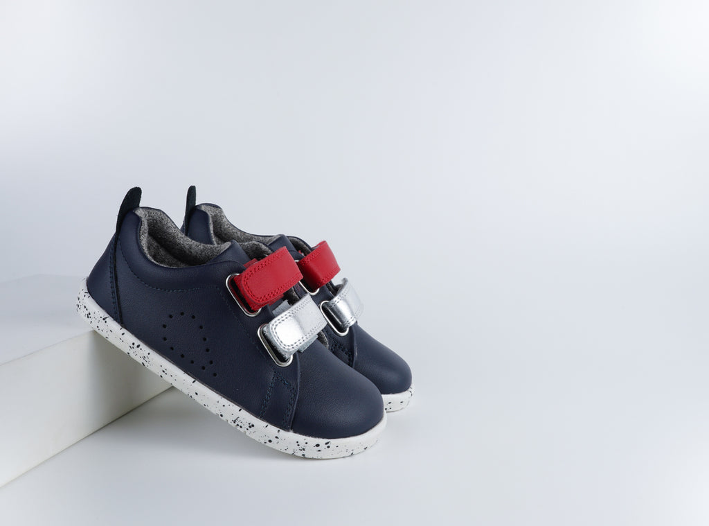 IW Grass Court Switch Navy (Red + Silver)