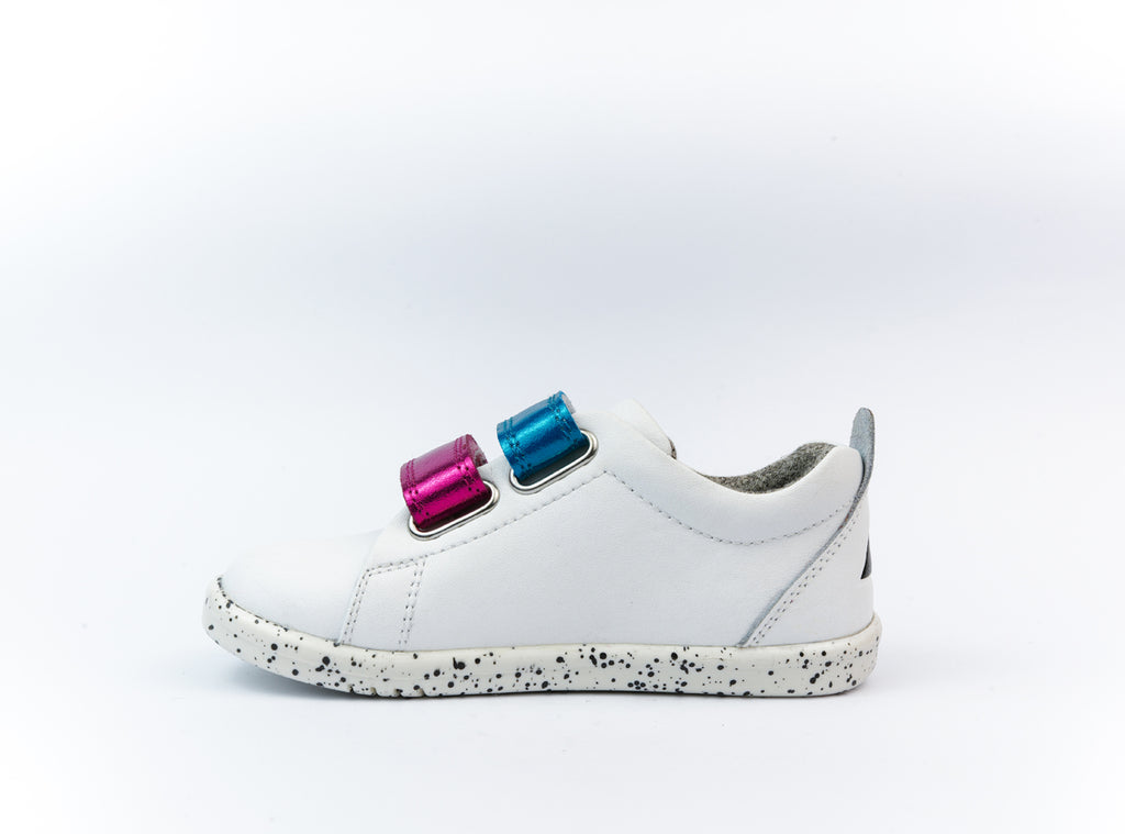 IW Grass Court Switch White (Raspberry Metallic + Peacock Metallic)