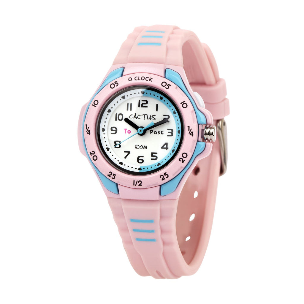 Mentor - Time Teacher Watch for Kids - Pink