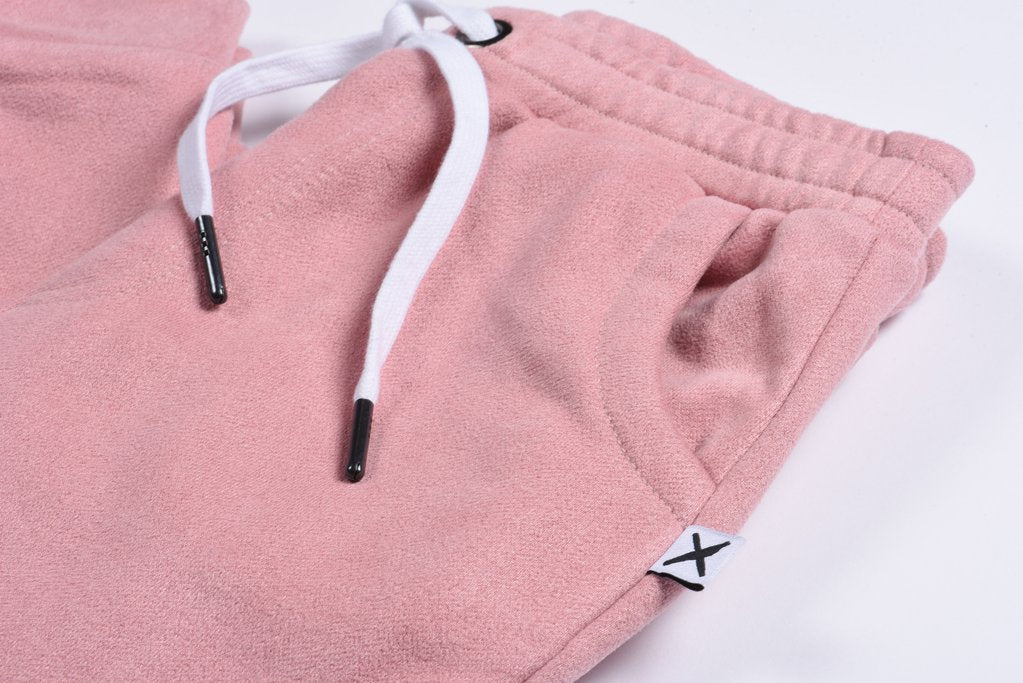 Peached Trackies - Muted Pink