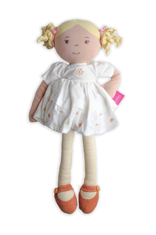 Priscy Linen Doll with Blonde Hair