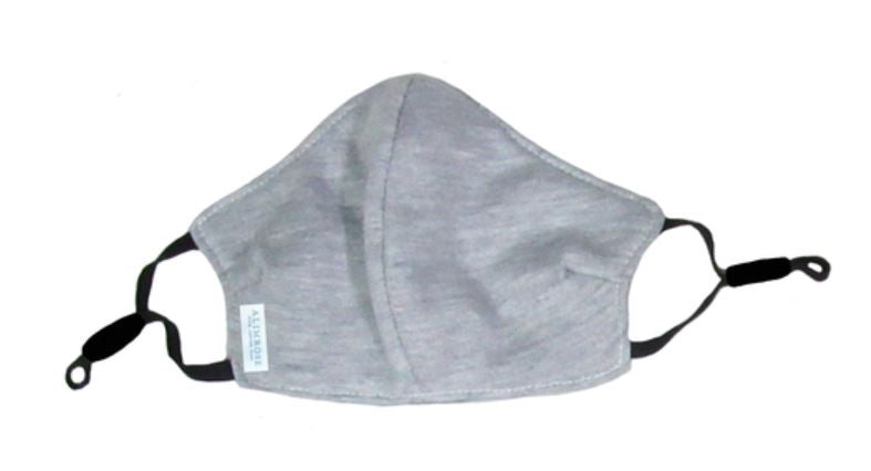 YOUTH 3 Layer Face Mask - Grey