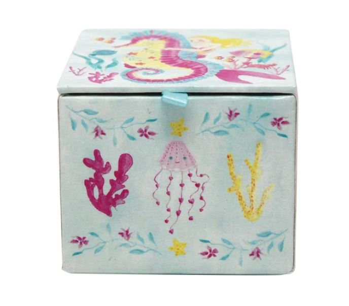 Wish Upon A Starfish Mini Music Box
