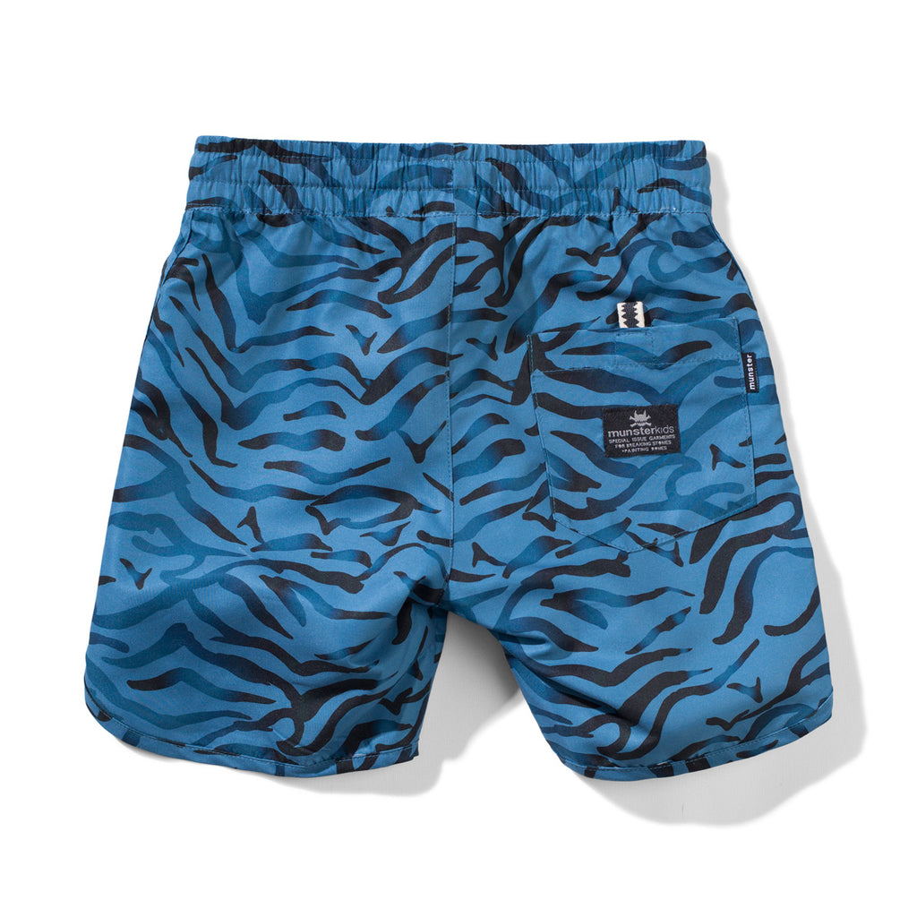 PINKISPUNK B/S SHORT - BLUE