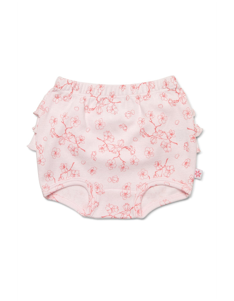 Singlet & Bloomer Set Fan Pink/White
