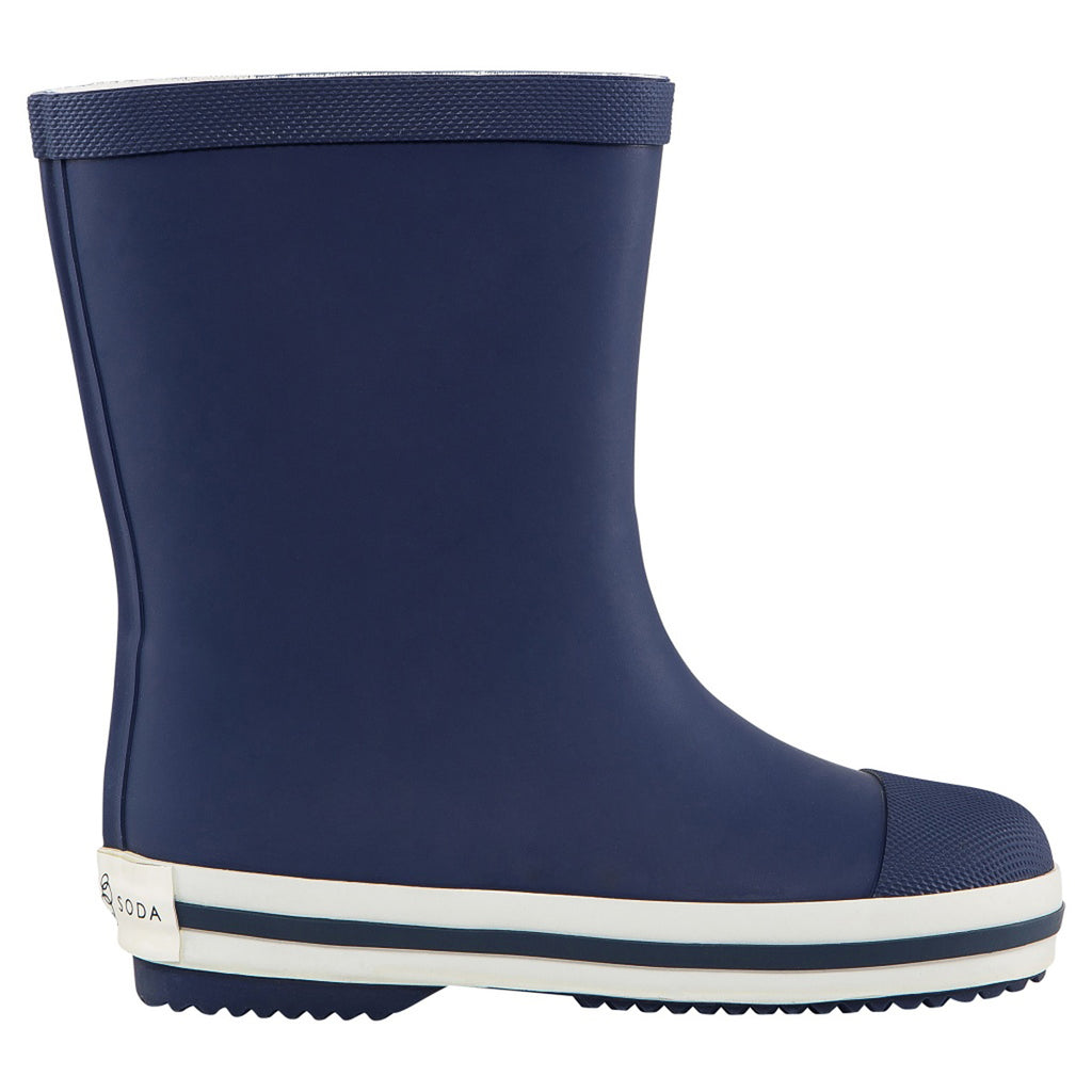 Long Gumboot - Navy