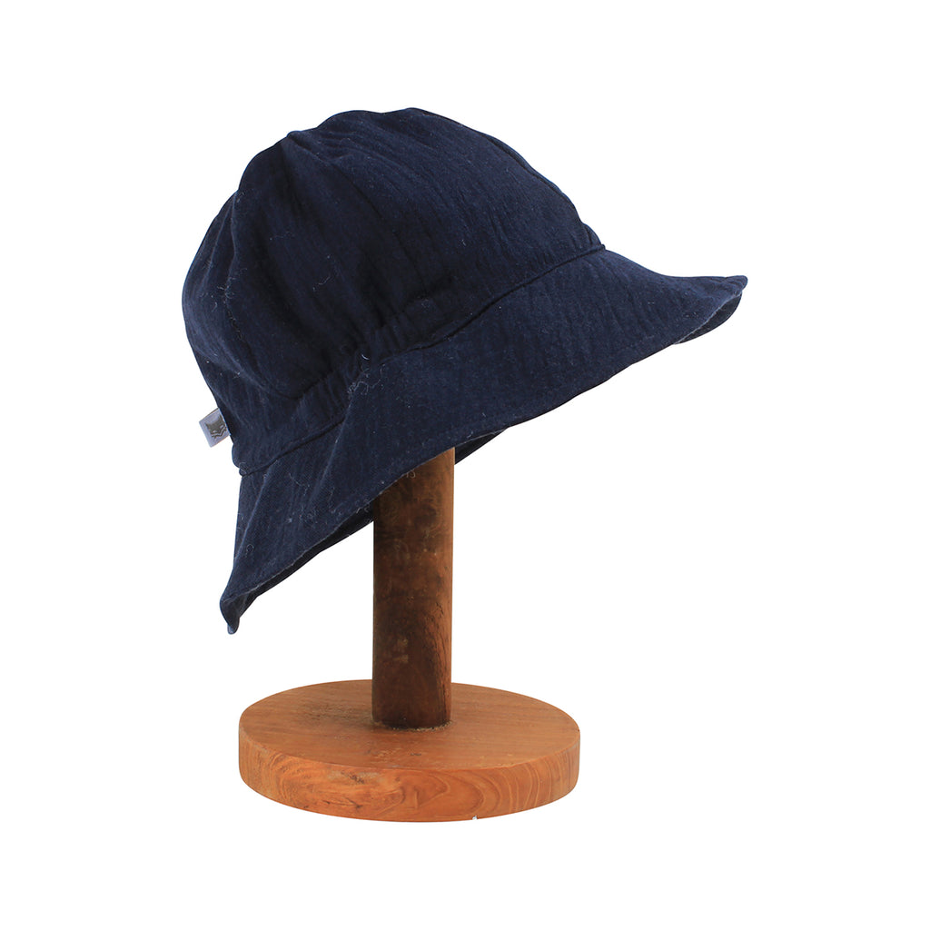 THE RIVER CRINKLE HAT NAVY