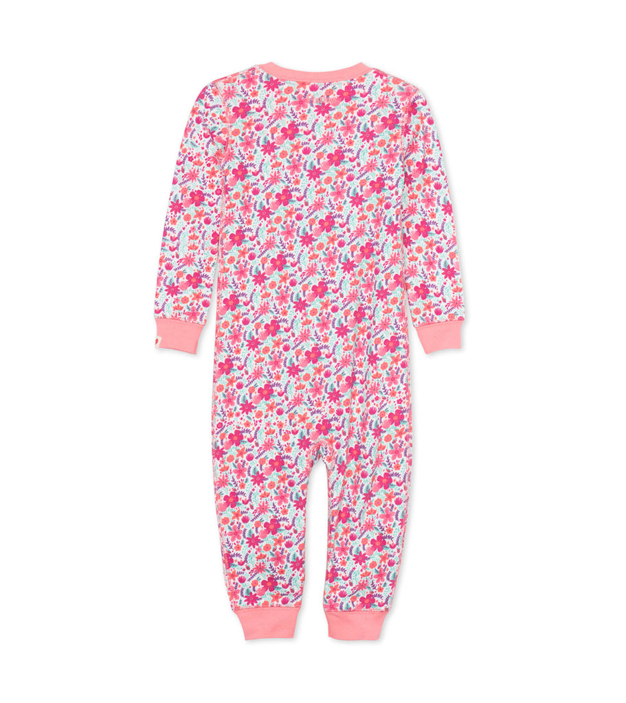 Summer Garden Organic Cotton Coverall