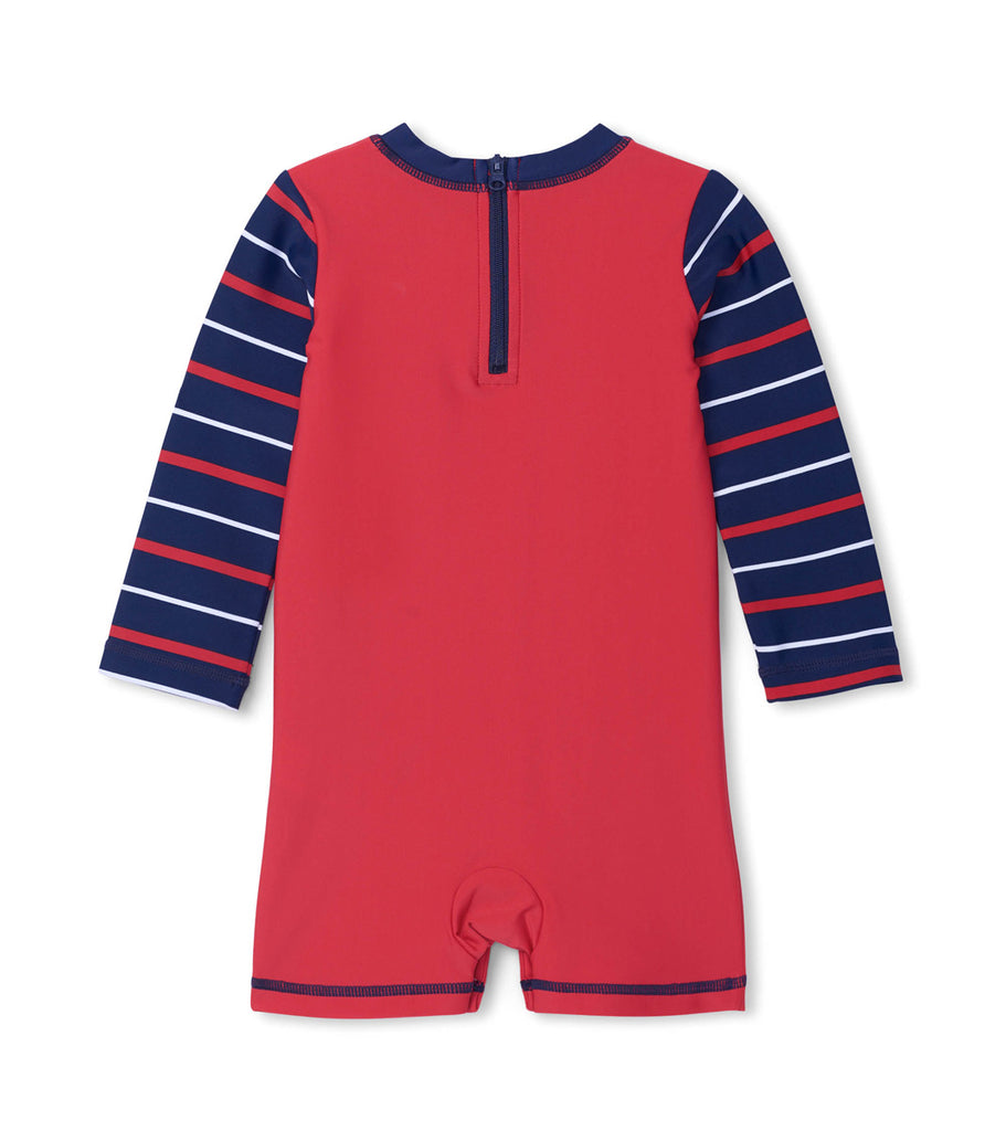 Nautical Anchor Baby One-Piece Rashguard
