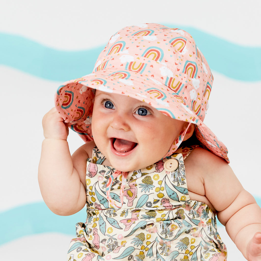 Rainbow Infant Hat