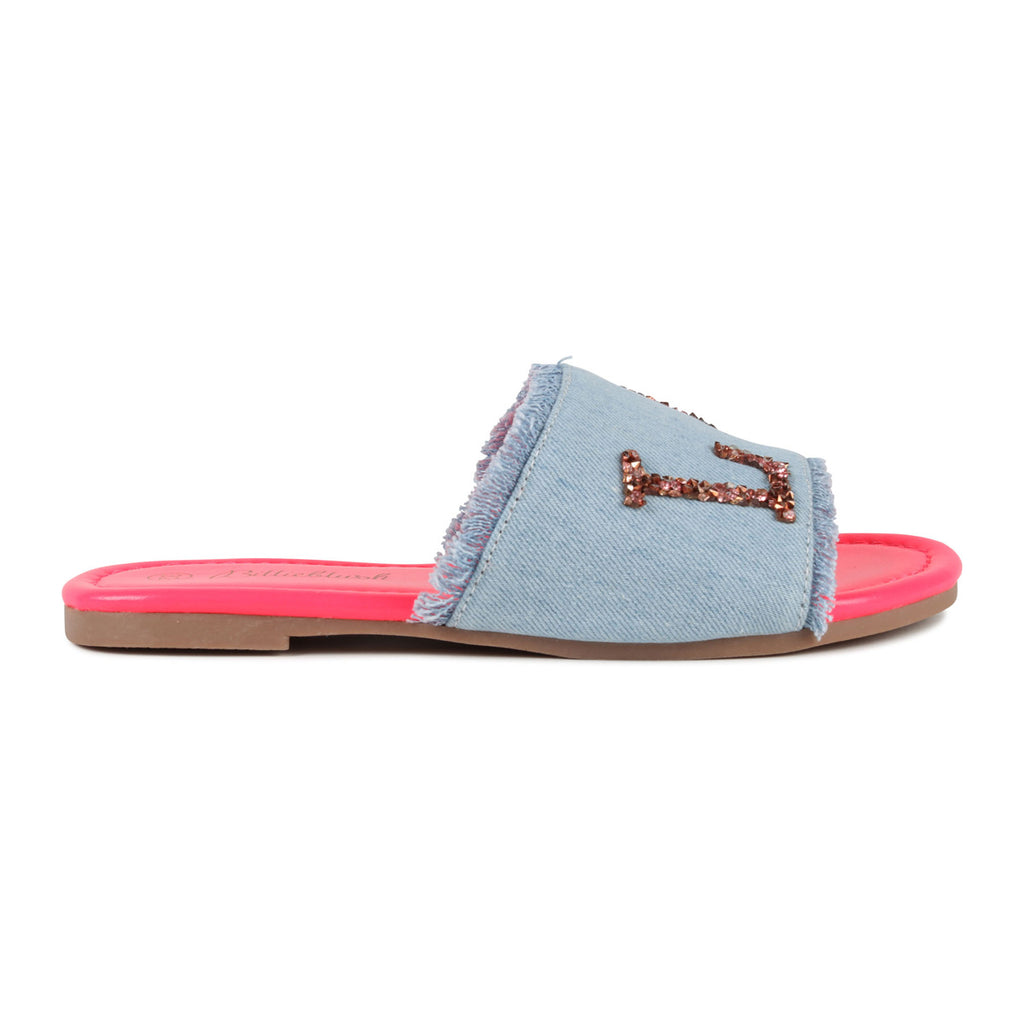 MULE DENIM LIGHT BLUE