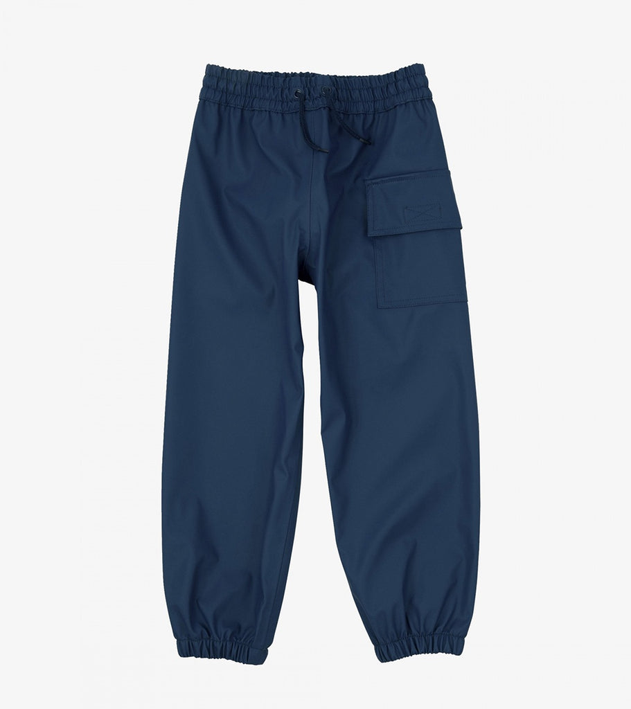 Navy Splash Pants