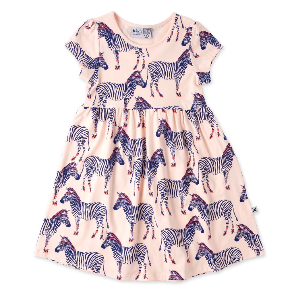 Zebra Ballerinas Dress - Ballet