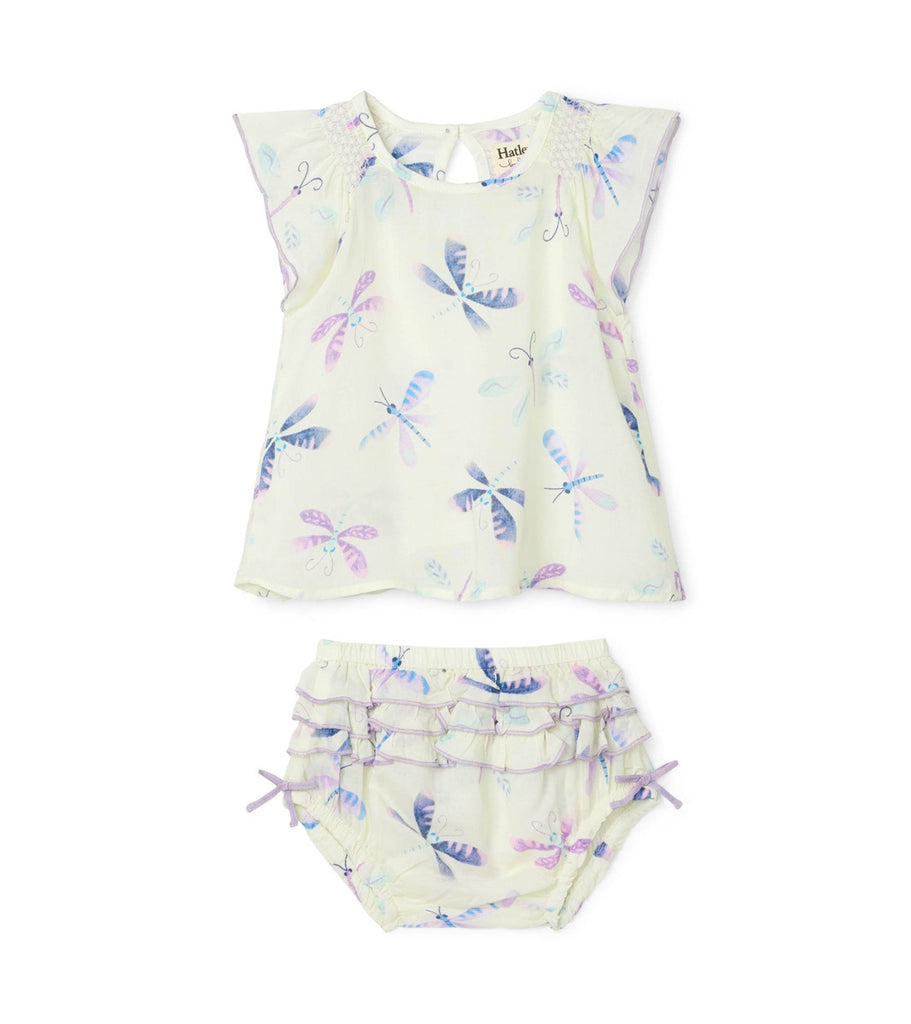 Painted Dragonflies Baby Bloomer Set