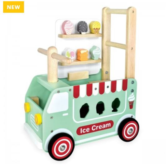 I'm Toy - Walk and Ride Ice Cream Truck Sorter