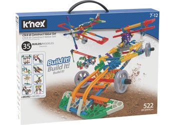 knex - Click & Construct Value Building Set Boxed