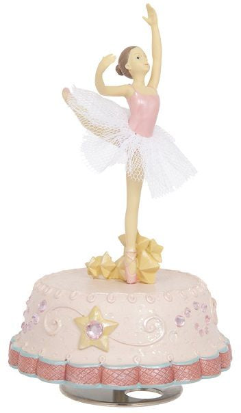 MUSIC WINDER RESIN W BALLERINA