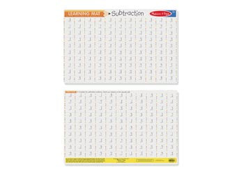 Subtraction Write A Mat