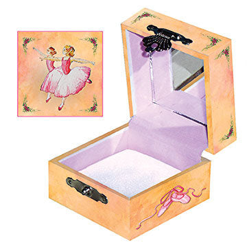 Ballerina Tiny Treasure Box