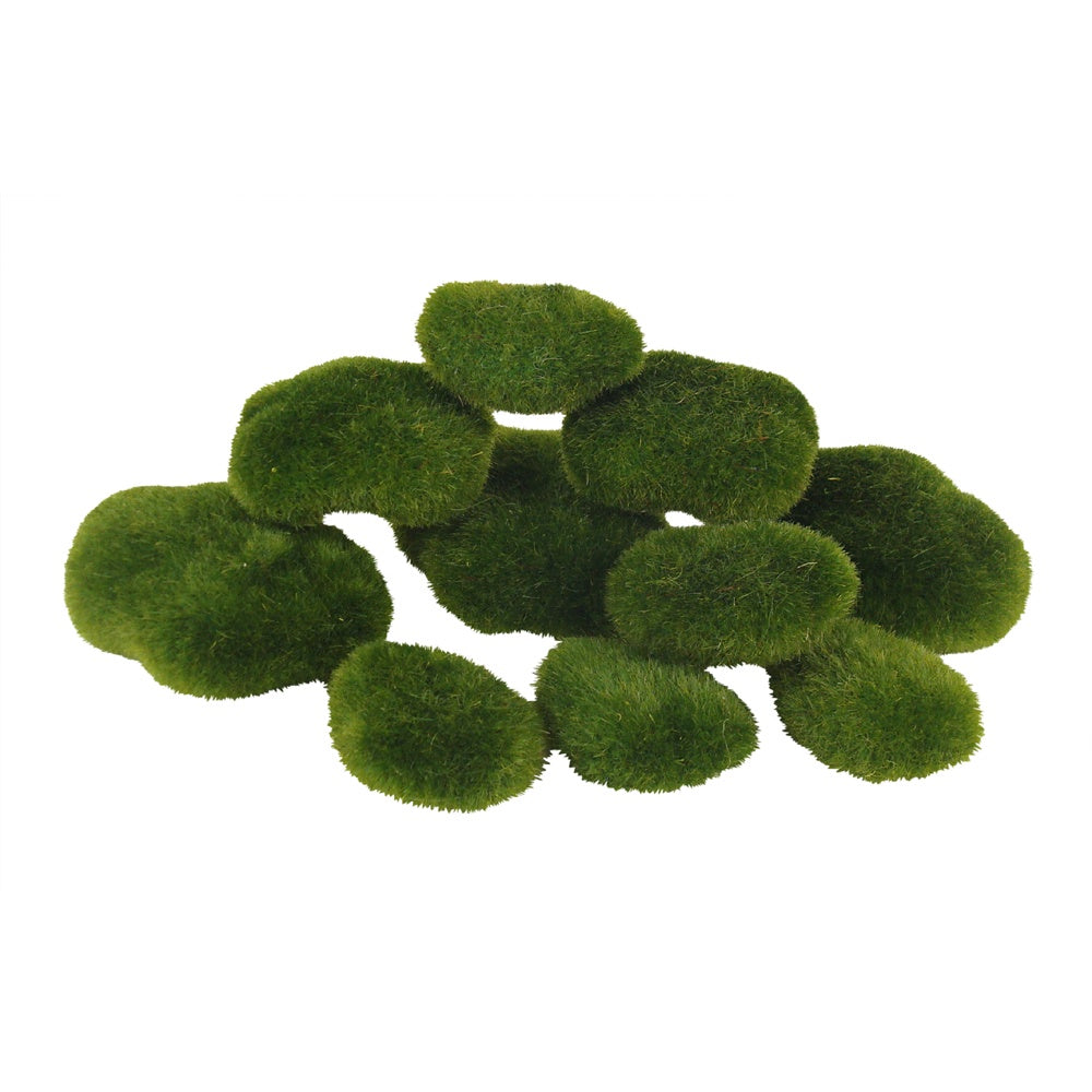 Moss Rocks Pack of 10