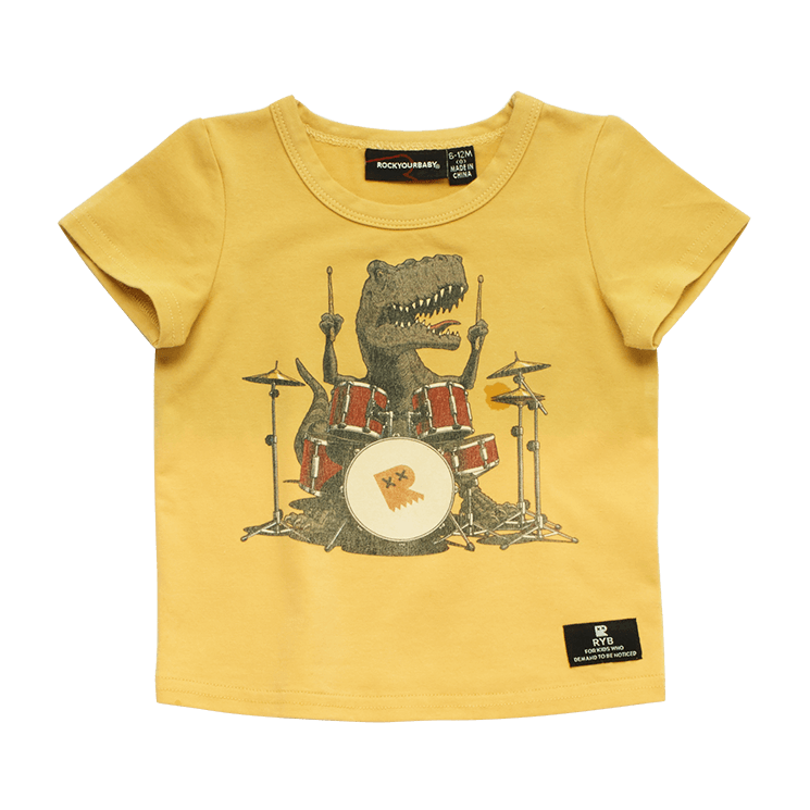 DRUM SOLO - BABY SS T-SHIRT