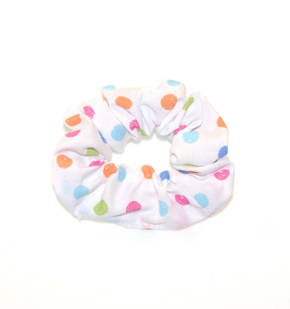 SCRUNCHIE WHITE MULTI
