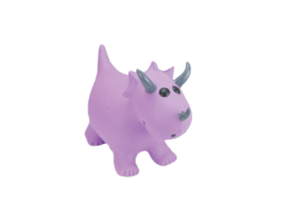 Happy Hopperz - Purple Triceratops