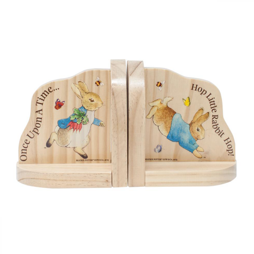 WOODEN BOOKEND BEATRIX POTTER