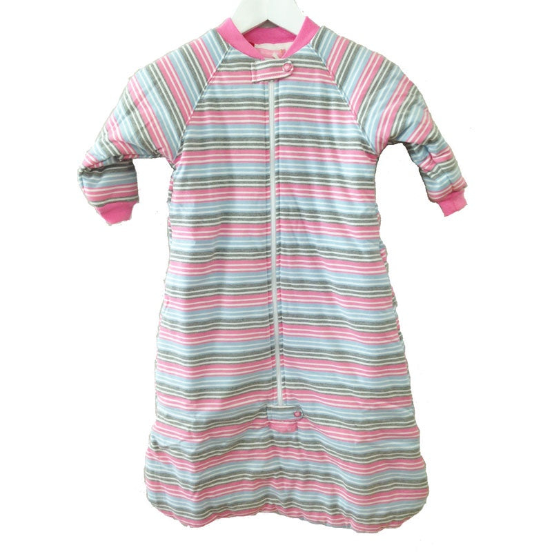 Baby Long Sleeve 3.0 tog Sleeping Bag Multi Pink