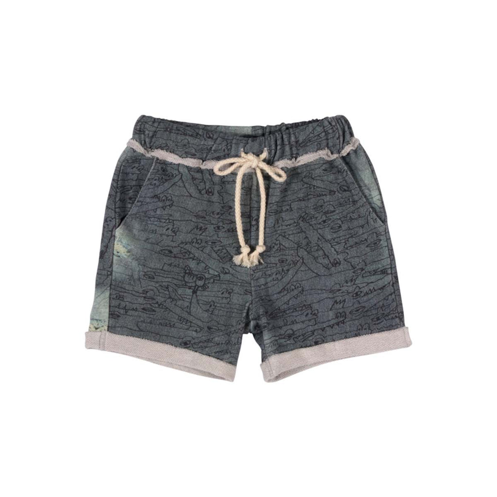Cuff Trackie Shorts - Gators Denim