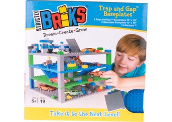 Trap and Gap Brik Tower - 19 pcs