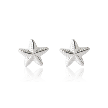 Twinkly Sea Star - Sterling Silver