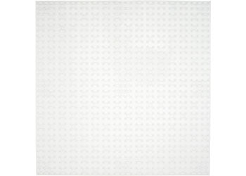 Strictly Briks-10x10 Single Baseplate-Clear