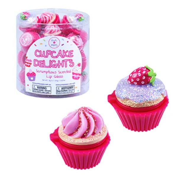 Cupcake Delights Scented Lip Gloss