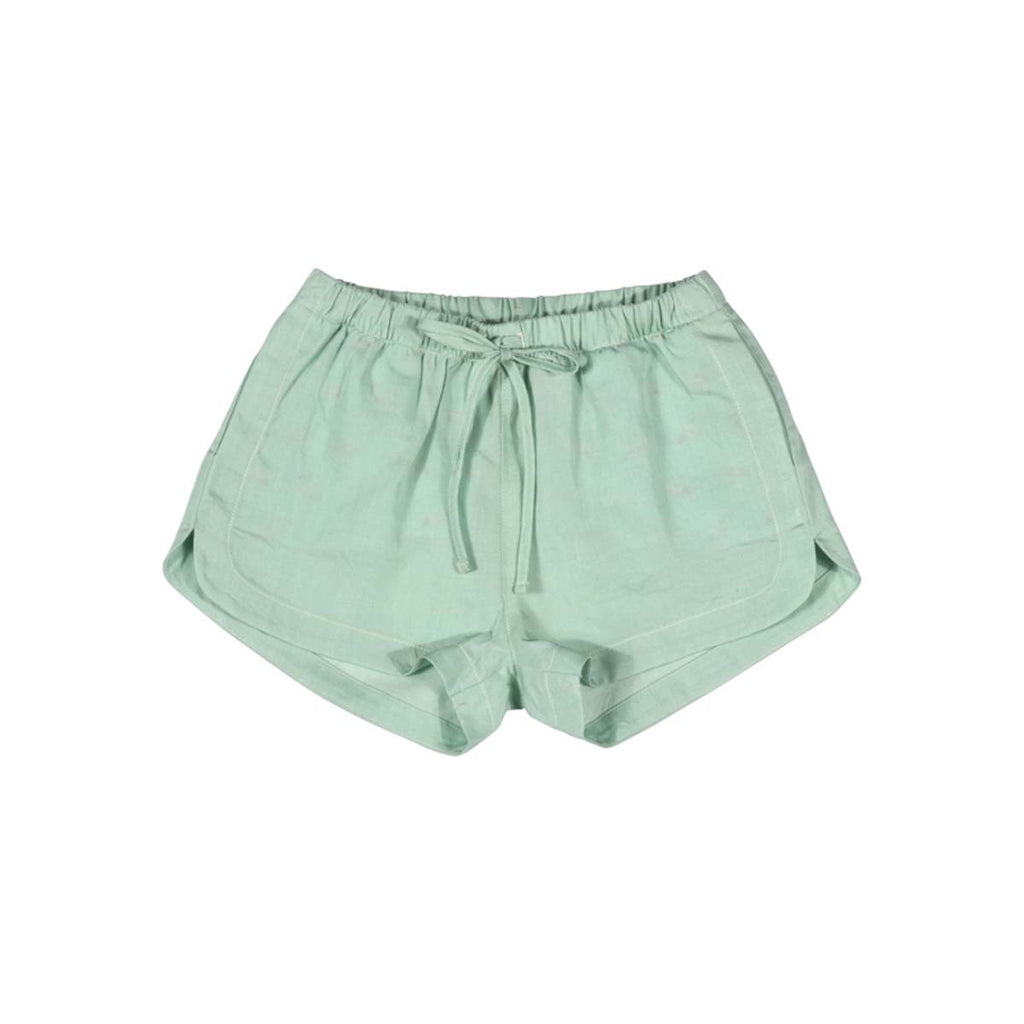 Chambray Shorts Mint
