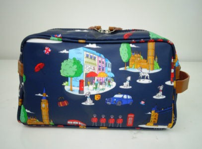 Toiletry Bag - Navy England