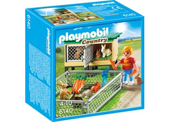 Playmobil - Rabbit Pen with Hutch